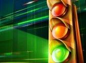 Мобильные светофоры в Москве