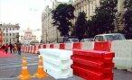 Дорожные блоки как способ обеспечить безопасность на дорогах.
