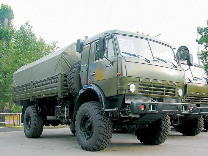 100 новых КАМАЗов на страже южных границ России